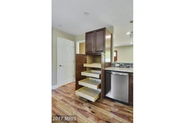 Kitchen Cabinets with Pull-out shelves