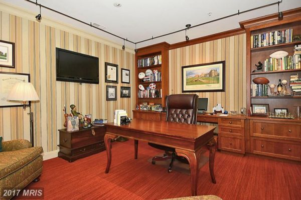 Lower Level Home Office
